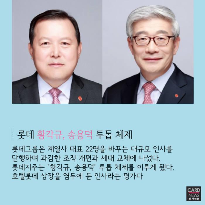 [카드뉴스]5대그룹 임원인사 돌아보기