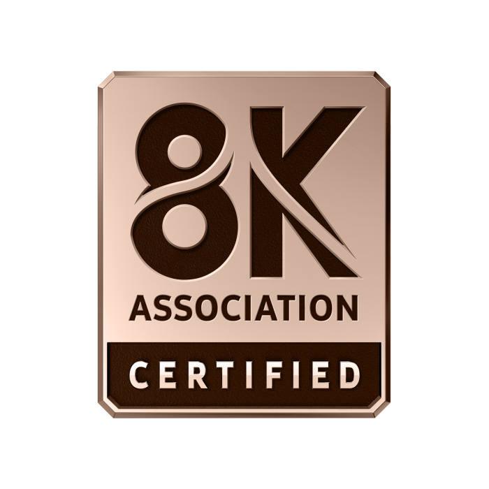 삼성 QLED 8K, CTA-8K 협회 인증 획득