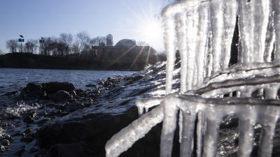 [과핫핫이슈]한강 얼음 보기 어려워진다