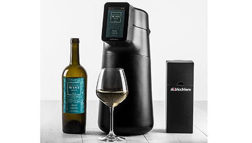 빅스랩의 스마트 와인 디스펜서 알비치어 (사진=CES 2020)