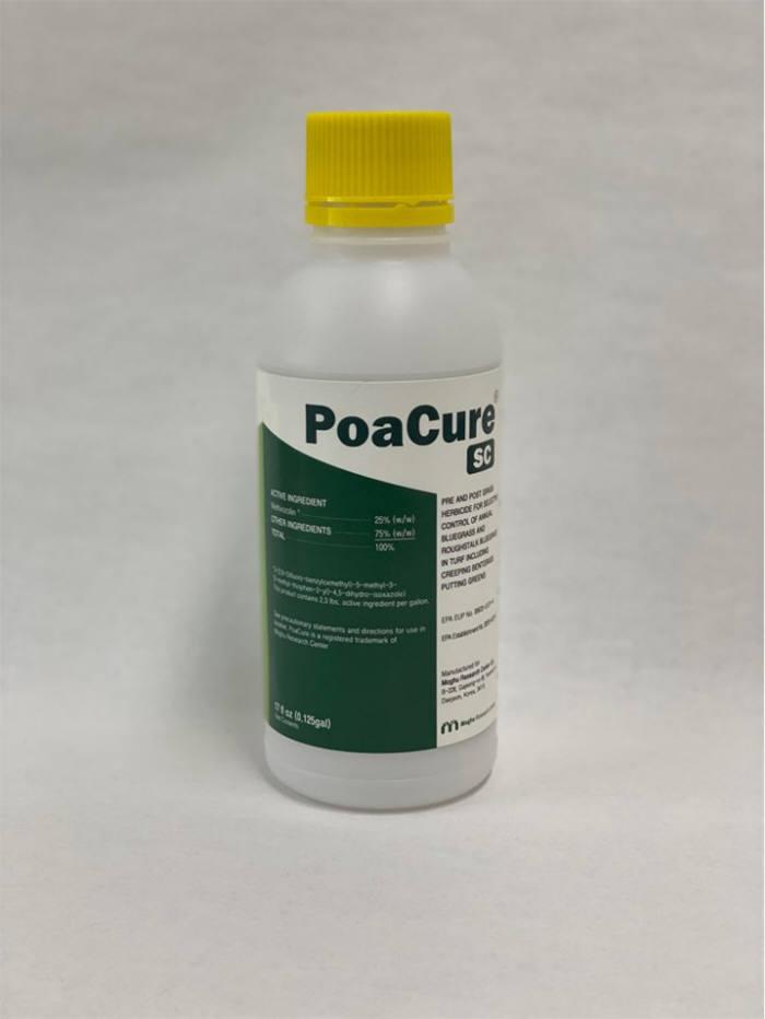 우리나라 최초로 미국 시장에 진출하는 메티오졸린. 국내 상품명은 포아박사, 해외는 PoaCure다.