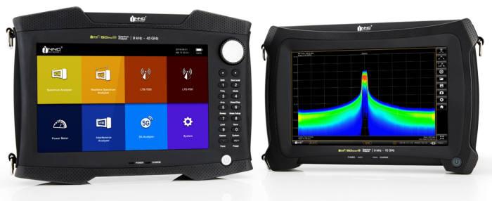이노인스트루먼트 휴대형 5G 스펙트럼 분석기 5G프로(왼쪽)와 5G스마트