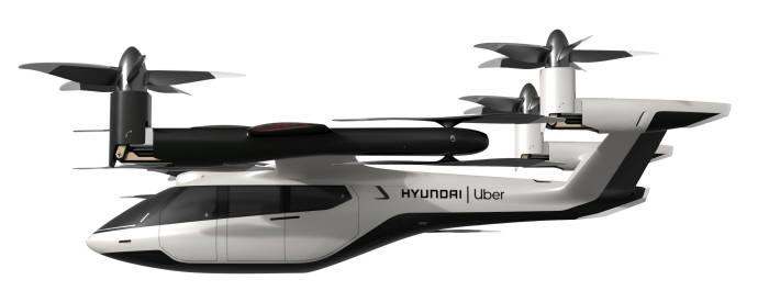 현대차와 우버가 공동 개발에 들어간 개인용 비행체(PAV) 콘셉트 S-A1.
