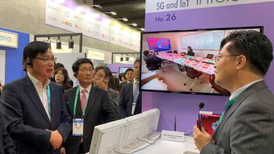[CES 2020]코트라, 통합 한국관 운영…페이스북·버라이즌·아마존·퀄컴 상담 주선