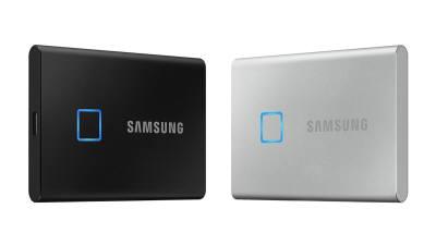 삼성, 지문인식 SSD 'T7 터치' 출시