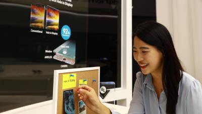 올해 'OLED 스마트폰' 6억대 넘는다…삼성디스플레이 미소