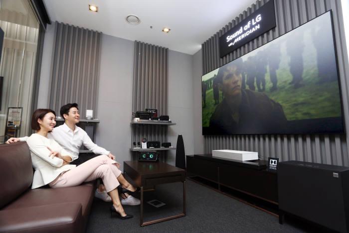 LG전자, 강남에 '청음 공간' 프리미엄 사운드 들려준다