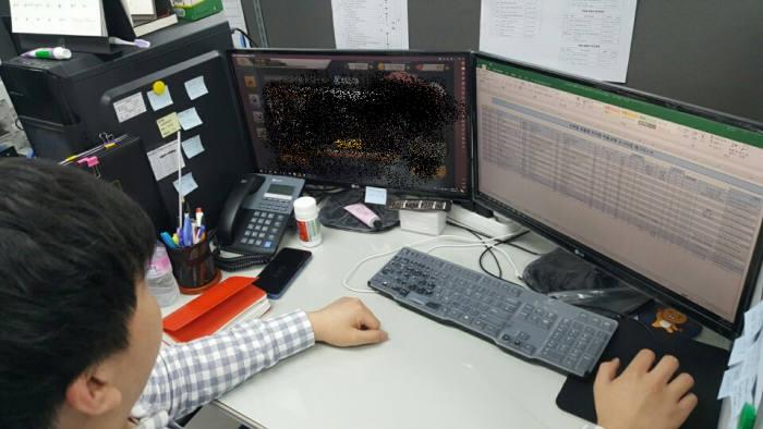 게임이용자보호센터(GUCC) 모니터링팀이 확률형아이템 자율규제 준수 여부를 살피고 있다. 사진=GUCC