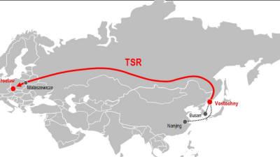 판토스, 시베리아 횡단 유럽 수출길 열었다