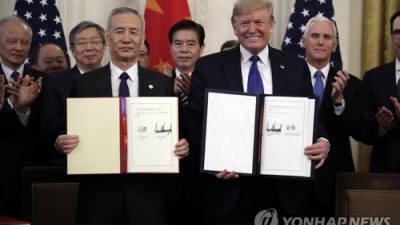 미·중 무역분쟁 1단계 합의…'발등의 불' 껐지만 불씨 남아