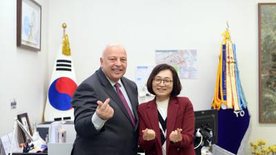 은수미 성남시장, 앨런 살마시 비아 CEO 간담회...스마트도시 조성 논의