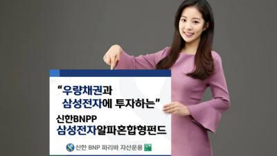 신한BNP파리바자산운용 '삼성전자 알파 혼합형펀드' 출시