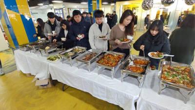 경상원, 신한대와 신메뉴·레시피 개발 품평회
