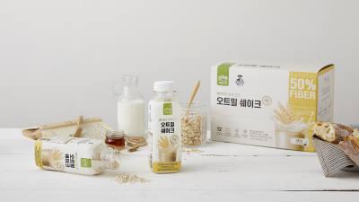 CJ ENM 오쇼핑부문, '오하루 자연가득 오트밀 쉐이크' 론칭