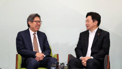 자유한국당-새보수당, 양당협의체 출범...보수통합 급물살