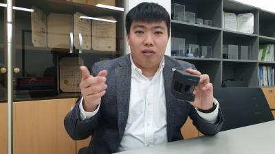 """정지성 에스오에스랩 대표 """"자율주행차용 라이다 R&D 박차"""""""