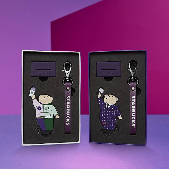 스타벅스, 방탄소년단 협업 카드·램프 2종 출시
