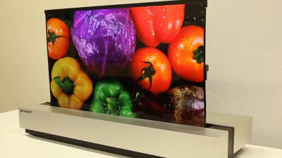 日 1위 샤프도 합류···OLED TV 시장 커진다