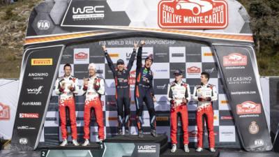 현대차 월드랠리챔피언십, 2020 WRC 시즌 첫 대회 몬테카를로 랠리 우승