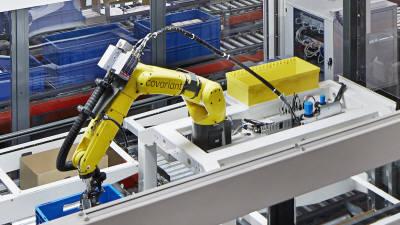 전자부품 분류하는 AI 로봇