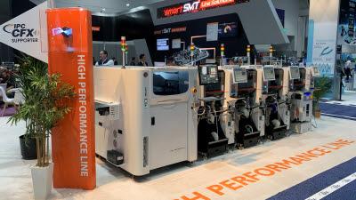 한화정밀기계, 고속 칩마운터 'HM520' 美 샌디에이고서 공개