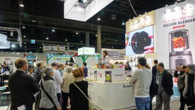 엔유씨전자, 독일 '암비엔테' 전시회 참가해 신제품 멀티 전기그릴 출품