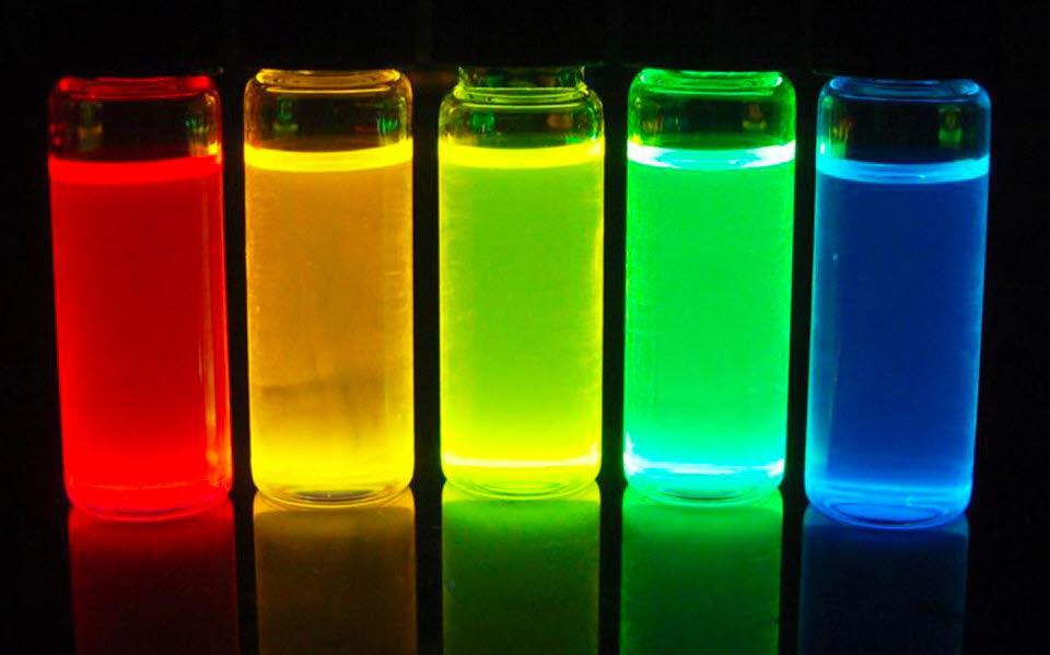 퀀텀닷을 활용한 색 재현 자료:삼성전자