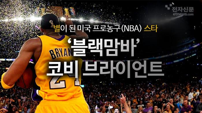 [모션그래픽]별이 된 미국 프로농구(NBA) 스타 '블랙맘바' 코비 브라이언트