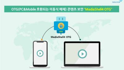 테르텐, USB OTG용 콘텐츠 보안제품 '미디어쉘4 OTG' 출시