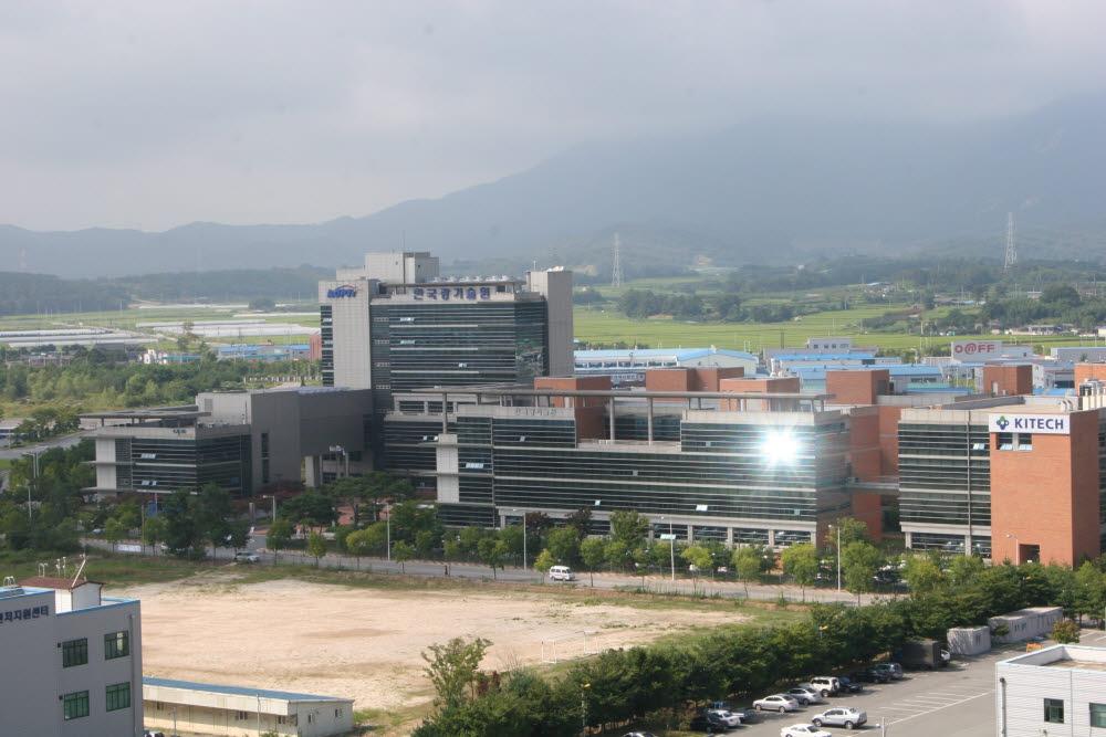 광주 광산업집적화단지 전경.