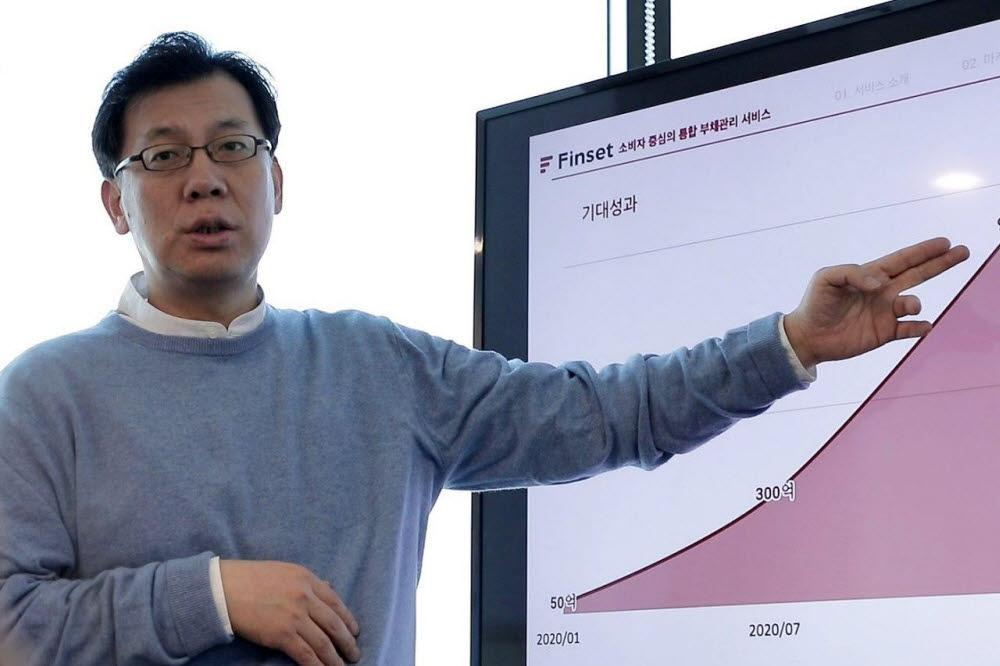 조영민 한국금융솔루션 대표
