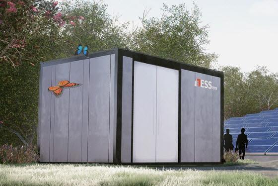 비에이에너지가 개발한 정보통신기술(ICT) 기반 ESS 안전관리시스템.