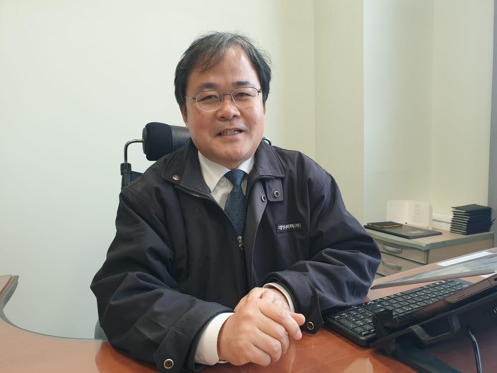 김경탁 대영유비텍 대표.