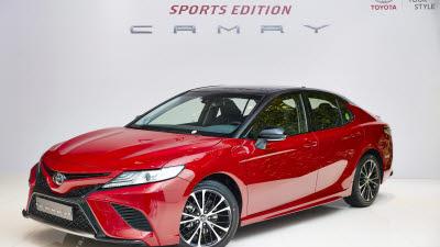 토요타, 더 날렵해진 '캠리 스포츠 에디션' 출시…200대 한정 판매