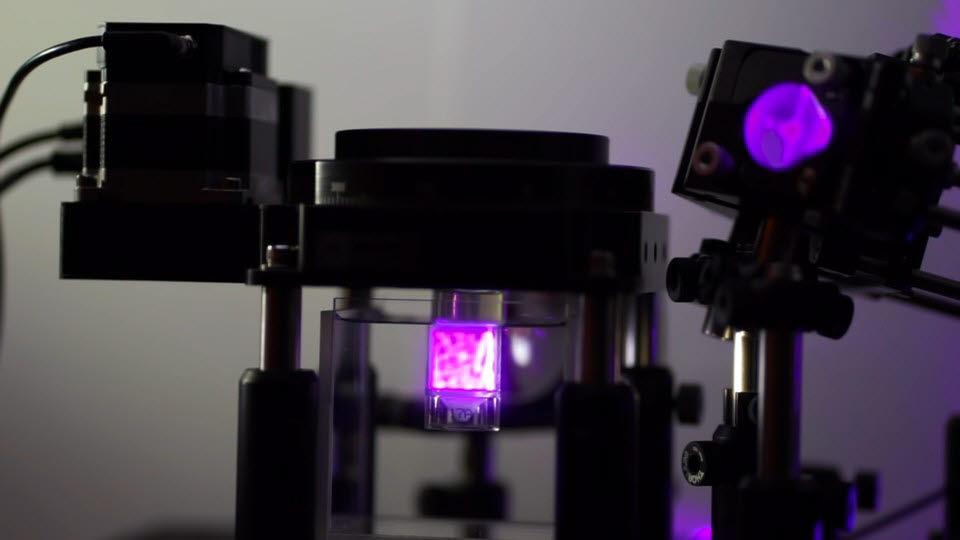 스위스 로잔 연방 공과 대학 연구진이 개발한 3D 프린터. <사진=EPFL>