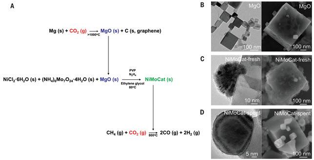 촉매 합성 방법과 현미경 이미지