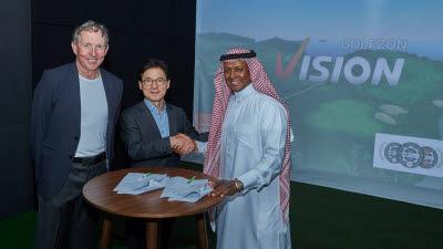 골프존뉴딘그룹, 사우디아라비아 골프시장 육성에 참여