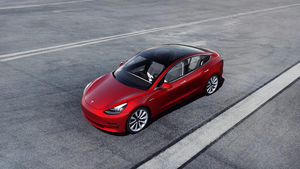 24개월 연속 미국 전기차 판매량 1위를 차지한 테슬라 모델3.