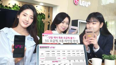 [기획]LG유플러스, 5G 요금제 혁신 선도