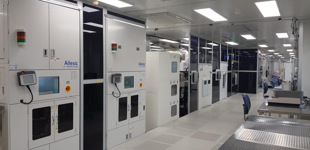 전력반도체 전문인력 양성사업의 주요 실습 장소로 활용될 부산테크노파크 전력반도체상용화센터.