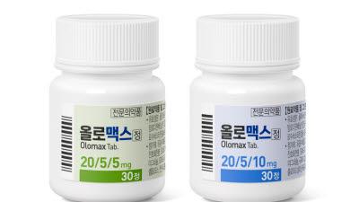 대웅제약 올로맥스, 신규 용량 추가...'고혈압 치료제' 라인업 강화