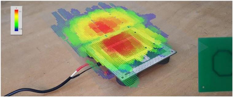 스캔폰 노이즈 측정 이미지