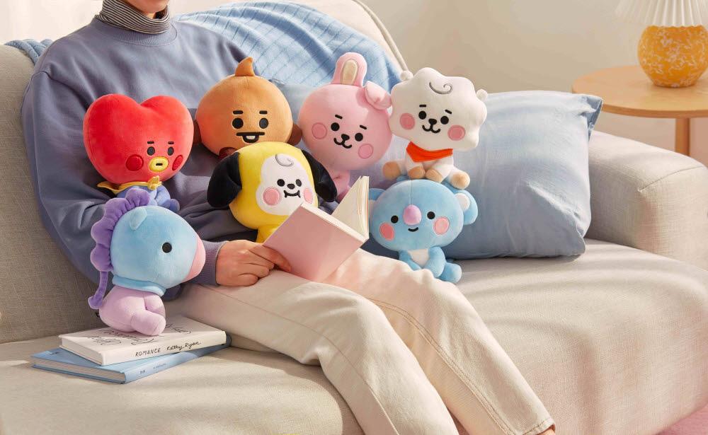 라인프렌즈, 'BT21 BABY' 테마 컬렉션 글로벌 론칭