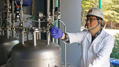 한전, 국내 첫 '수소저장 액체기술' 실증 성공