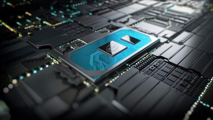 인텔 10나노 공정이 적용된 10세대 코어 프로세서 제품. <사진=인텔>
