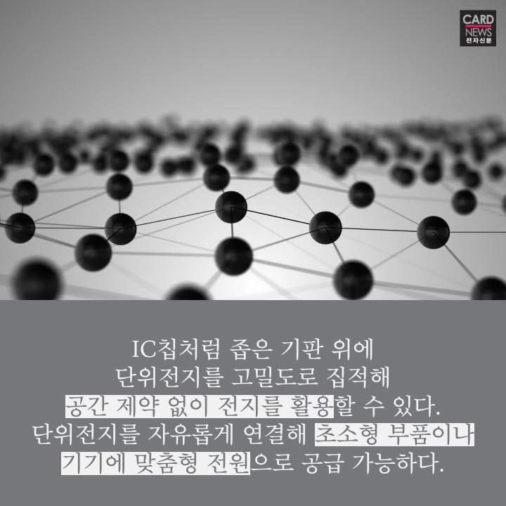 [카드뉴스]'깨알 전지'로 초소형 기기 'ON'
