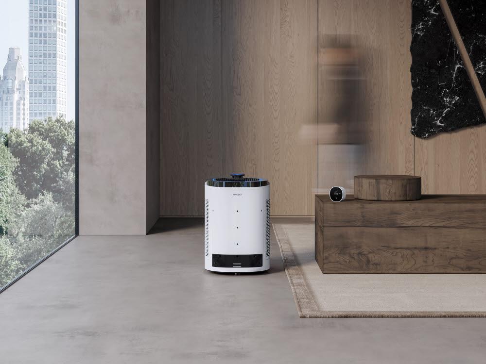 에코백스(ECOVACS) 공기청정기 로봇 애트모봇 프로(ATMOBOT Pro)