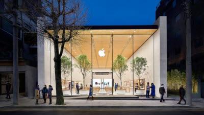 애플 가로수길, 2주간 문 닫는다... 코로나19 대응 조치