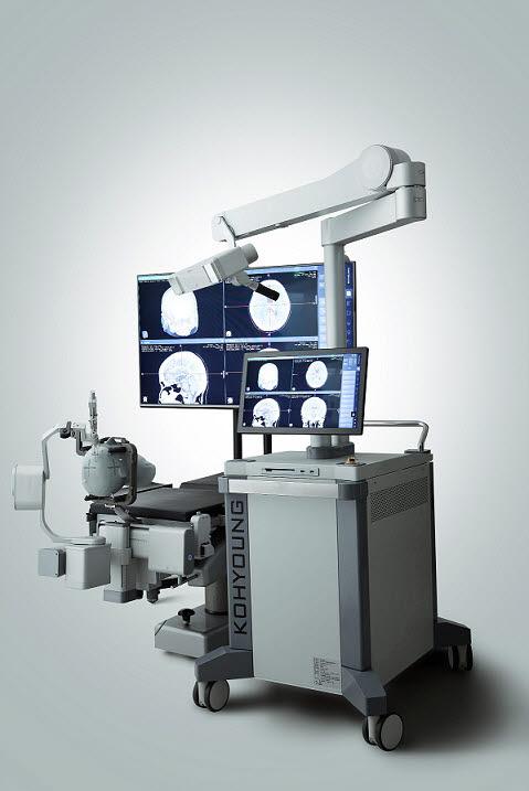 고영테크놀러지의 뇌수술로봇 키메로