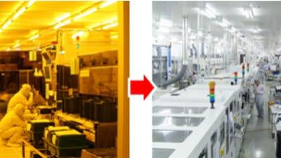 지엘비텍, 노광라인 전용 백색 LED 업계 최초 양산